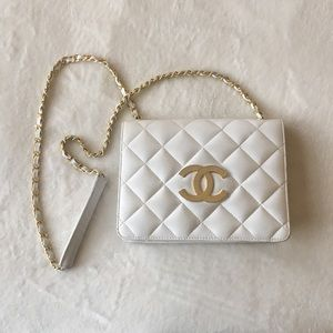 White Vintage Chanel